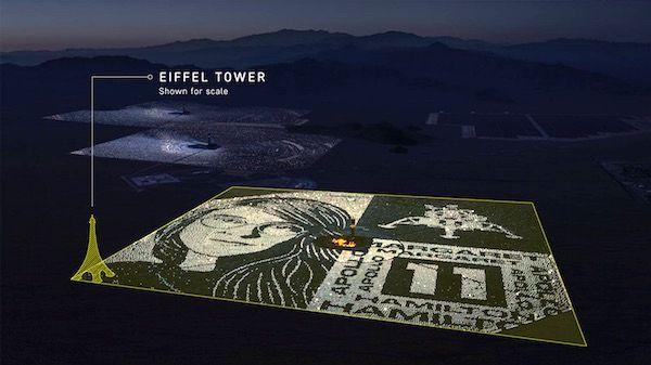 برنامه های گوگل برای بزرگداشت آپولو۱۱ با یادبود ۳ کیلومتری