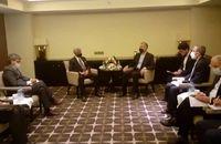 وزیران امور خارجه ایران و هند با یکدیگر گفت و گو کردند