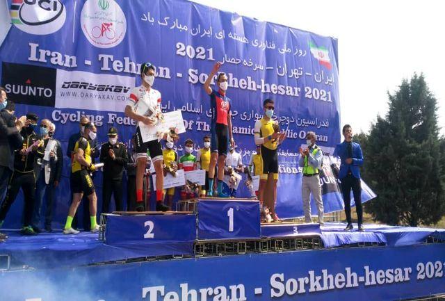 قهرمانی پورهاشمی در رقابت های تیم ملی دوچرخه سواری انتخابی تیم ملی ایران