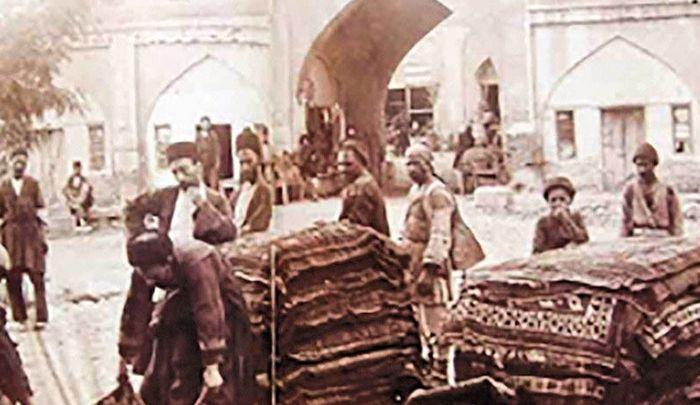 خام فروشی در ایران از دوره قاجار