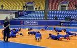 تمرین رسمی تیم ملی فوتسال در ارومیه برگزار شد