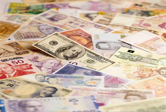 کاهش نرخ بانکی 16 ارز