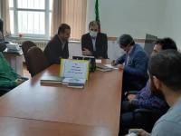 جلسه توجیهی با مسئولین باشگاه ها در نمین برگزار شد