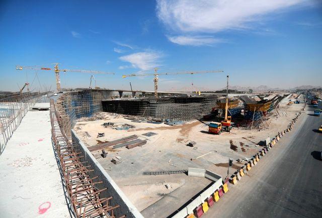 پیشرفت 40 تا 100 درصدی مجموعه پروژه های رینگ چهارم شهر اصفهان/ پروژه بزرگ تقاطع غیرهمسطح شهید سلیمانی 20 درصد تا تکمیل نهایی فاصله دارد