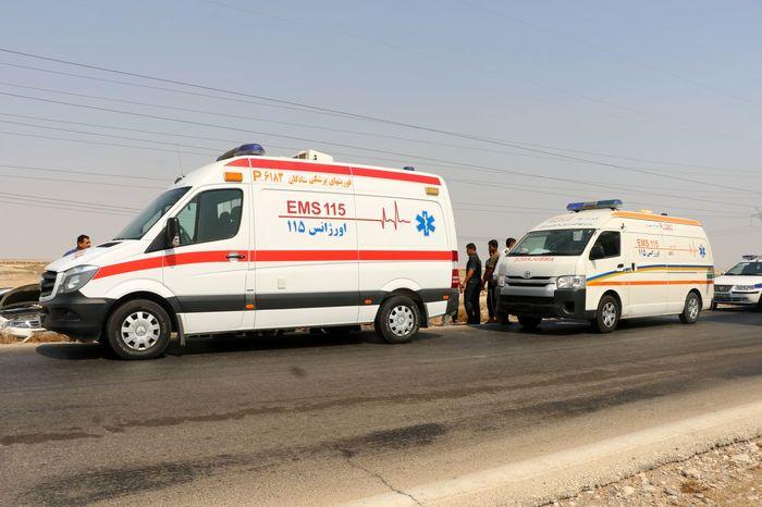 واژگونی دو خودرو در جاده تبریز-تهران ۲ کشته برجای گذاشت
