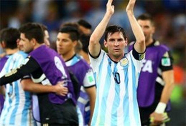 مسی: ایران مقابل آرژانتین دفاع میکند