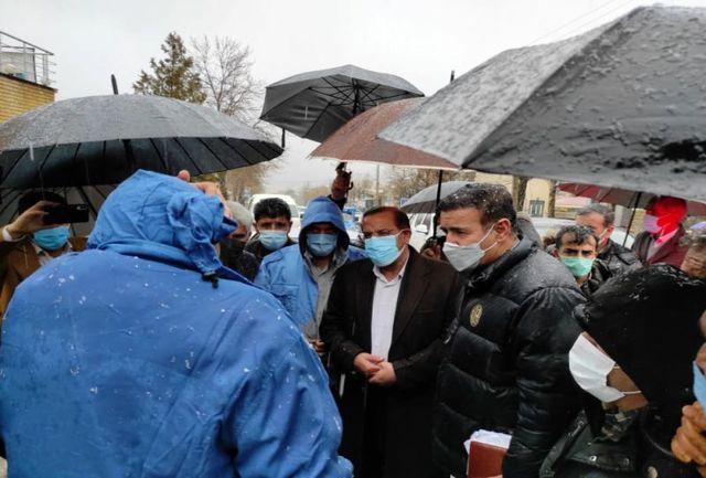 بازدید نماینده بویراحمد،دنا و مارگون از شهر زلزله زده سی سخت