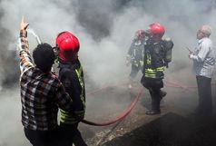 تلاش آتش نشانان برای اطفا حریق و امداد و نجات ۱۴ عملیات طی ۲۴ ساعت