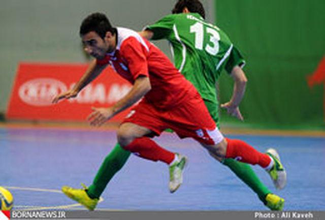 تساوی تیم ملی فوتسال ایران و آرژانتین