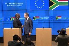 حمایت سران اتحادیه اروپا و آفریقایجنوبی از برجام