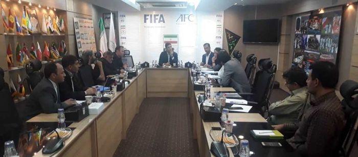 برگزاری جلسه هماهنگی مسابقات مقدماتی فوتسال آسیا