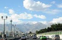 هوای تهران در وضعیت قابل قبول در 19 شهریور ماه