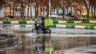 بارش باران در مناطق غرب کشور