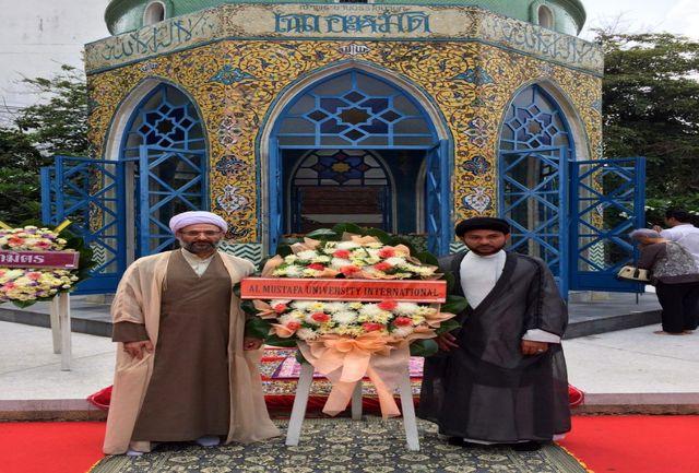 پرتره «شیخ سیام» به قاب تلویزیون راه یافت
