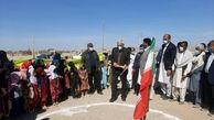 حداث یک واحد آموزشی در روستای چاه محمد چاه شور شهرستان دلگان