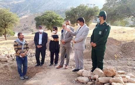 کشف آثار 3 هزارساله از گورستان تاریخی سادات محمودی شهرستان دنا