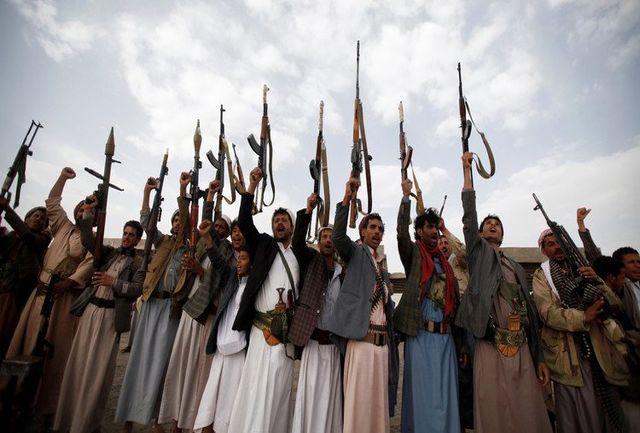 ضربه سنگین به ائتلاف عربی/ انهدام کاروان تانک های عربستانی در خاک عربستان