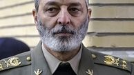 بازدید فرمانده کل ارتش از یگانهای نظامی در مرز دوغارون