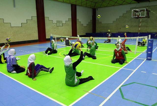 پنجمین مرحله اردوی آمادگی تیم ملی والیبال نشسته بانوان