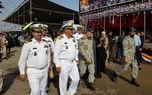 بازدید معاون هماهنگ کننده نیروی دریایی ارتش از مرز شلمچه
