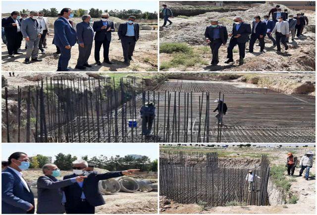 بازدید مدیرکل راه و شهرسازی استان تهران از پروژه اقدام ملی مسکن