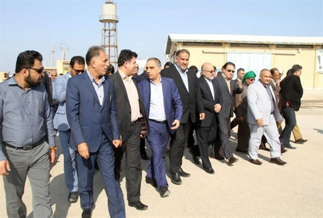 احداث اسکله ١۵٠ متری بتنی در بندر اروندکنار/ استقبال عراق از کالاهای صادراتی ایران