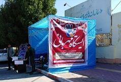 ایستگاه جمع آوری کمکهای مردمی به سیل زدگان برپا شد