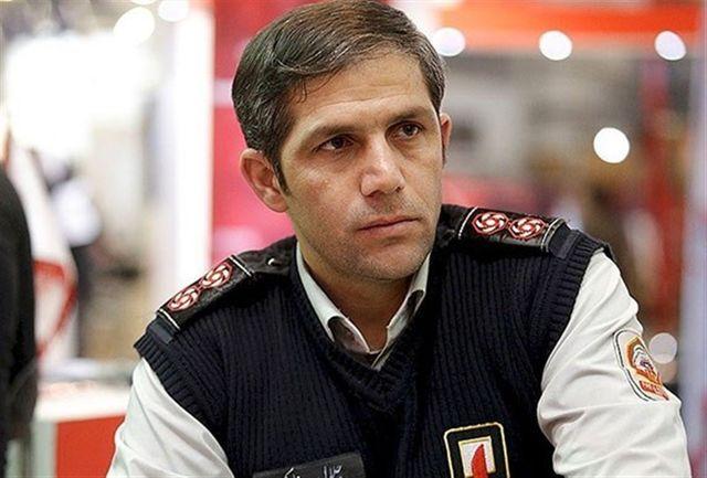 شهادت آتش نشان تهرانی هنگام عملیات نجات