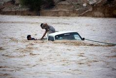 ناپدید شدن خودرو پژو و سرنشینان آن درسیلاب های زنجان