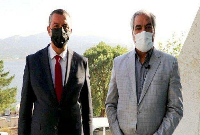 استاندار سلیمانیه عراق همراه هیات اقتصادی وارد کردستان شد