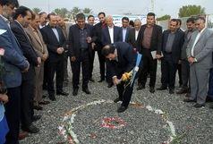 کلنگ احداث فاز دوم باشگاه فرهنگیان شهرستان جیرفت به زمین زده شد
