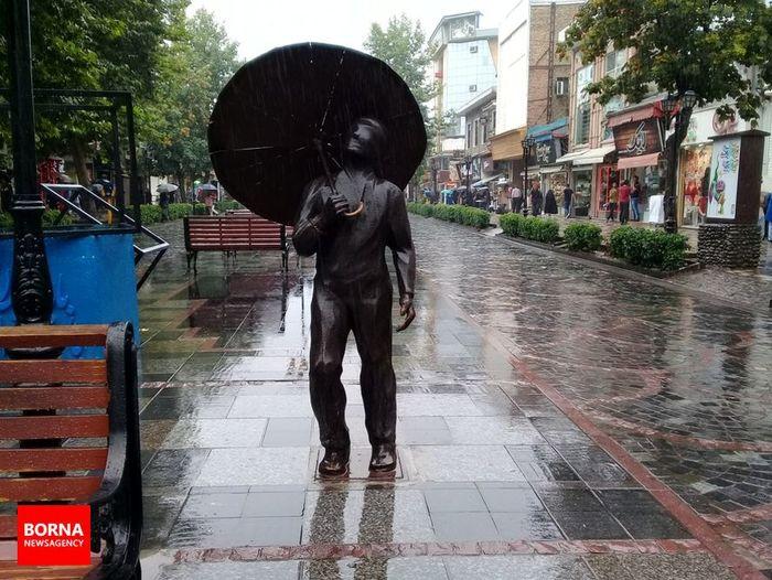 ایران شاهد رگبار گسترده باران