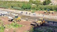 61 هکتار از اراضی بستر رودخانه های استان قزوین آزادسازی شد