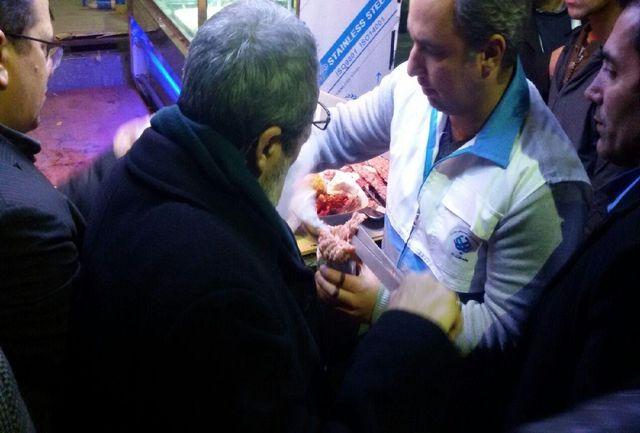 گشت و بازدید شبانه تعزیرات از میدان آزادی تهران