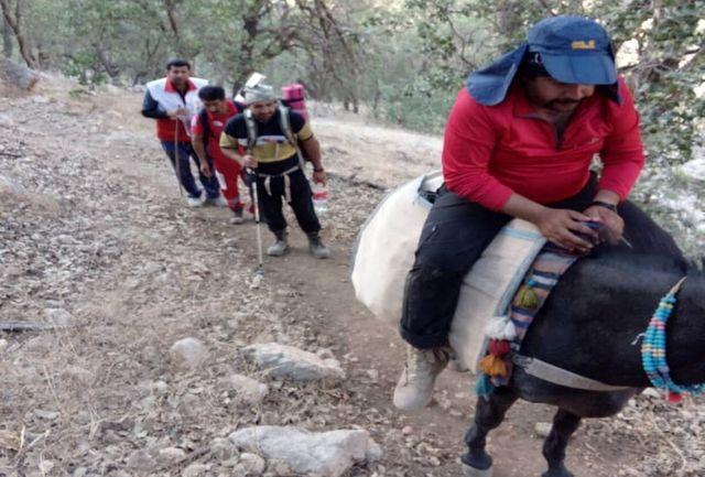 نجات ۲ کوهنورد در کوه های سی سخت