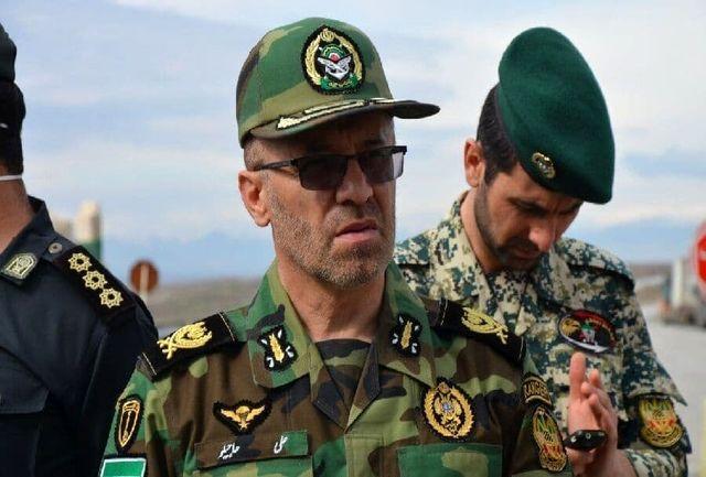 اعزام شماری از نیروهای ارتش به مرزهای شمال غرب کشور