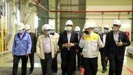 اسلامی از نیروگاه اتمی بوشهر بازدید کرد