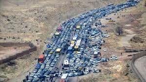 ترافیک نیمه سنگین در کندوان و هراز