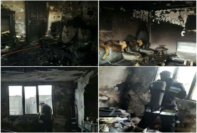 حریق ۲ منزل مسکونی توسط آتشنشانان شهرداری قدس خاموش شد