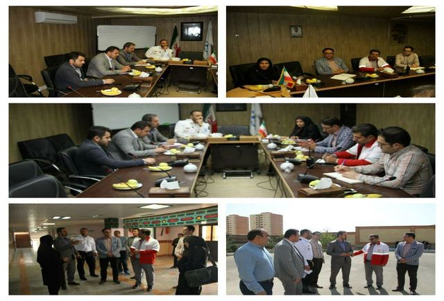 برگزاری دومین جلسۀ هماهنگی برنامه های هفته پدافند غیر عامل در شهرداری پرند