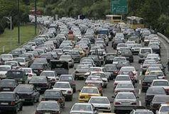 وضعیت ترافیک معابر بزرگراهی تهران در چهارم اردیبهشت