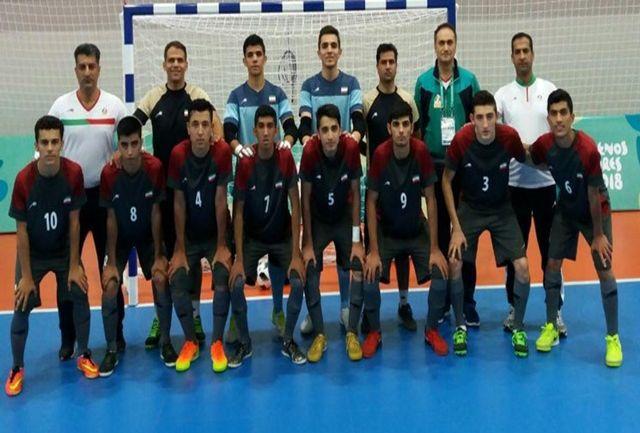 برتری برزیل مقابل ایران