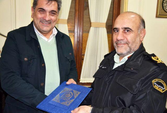 دیدار رئیس پلیس پایتخت و شهردار تهران