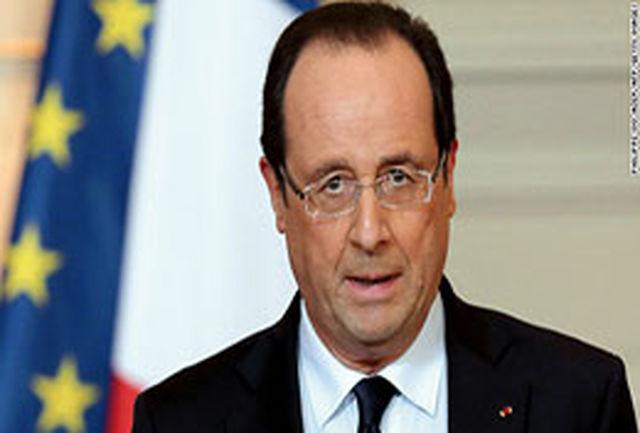 میزان محبوبیت فرانسوا اولاند به ۲۳ درصد تنزل یافته است