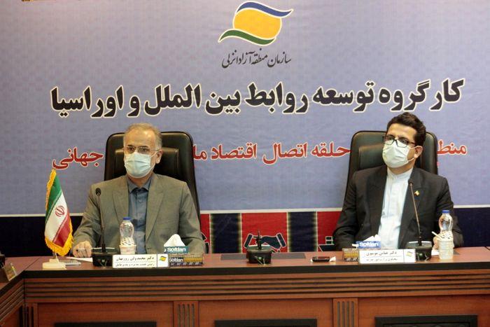 ترسیم افقهای جدید همکاری های منطقه ای ایران با تکیه بر ظرفیت های منطقه آزاد انزلی