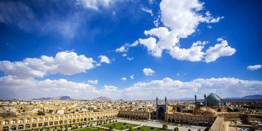 هوای اصفهان مشکلی ندارد