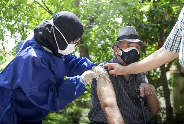 بیش از ۸۹ هزار نفر جمعیت بالای ۷۰ سال کرمانشاه واکسینه میشوند