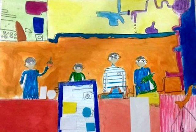 درخشش کودکان سیستان و بلوچستان در مسابقه بین المللی نقاشی