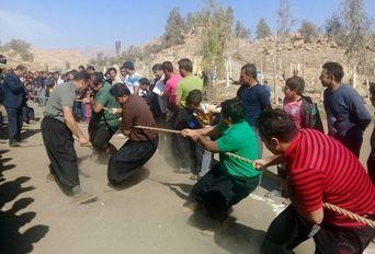جشنواره ورزش ها و بازی های بومی در پلدختر