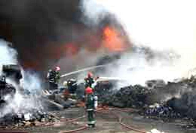 آتش دولت آباد مهار شد